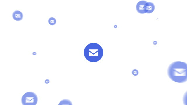 icons of social media. Two animations expressing the diffusion. Mail icon ver. icons of social media. Two animations expressing the diffusion. Mail icon ver. e mail stock videos & royalty-free footage