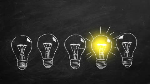 concetto di idea - idea video stock e b–roll