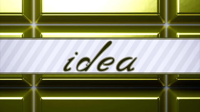 Idea. Looping footage has 4k resolution.