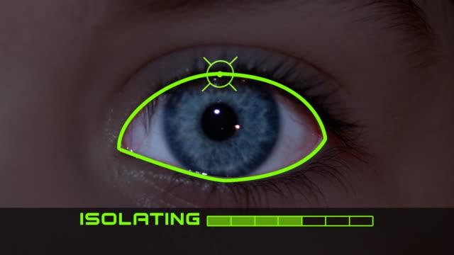 Identification Eye Scan video