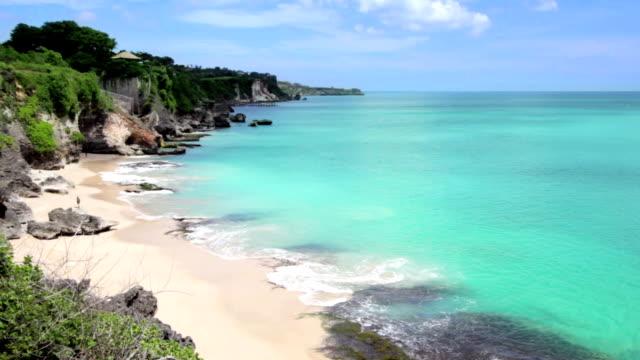 Idyllischen Strand auf der Insel Bali – Video