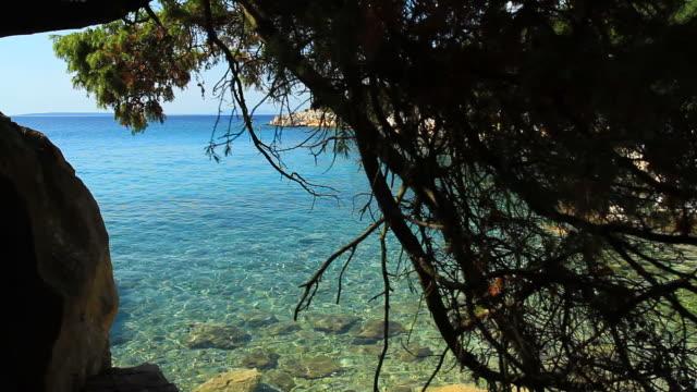 HD DOLLY: Idyllic Mediterranean Beach video