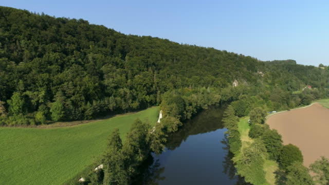 Idyllic River In Late Summer video