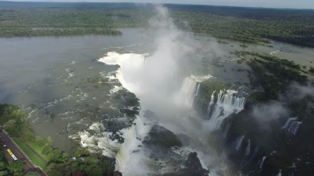 iguacu falls - парагвай стоковые видео и кадры b-roll