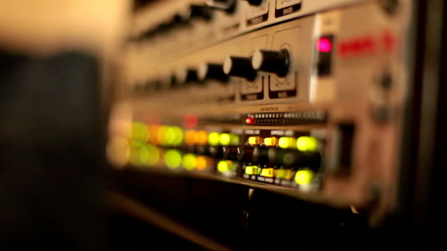 Illuminated Buttons - Professional Audio Equipment - Shifting Focus video