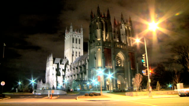 LOOP Illuminated National Cathedral in DC video