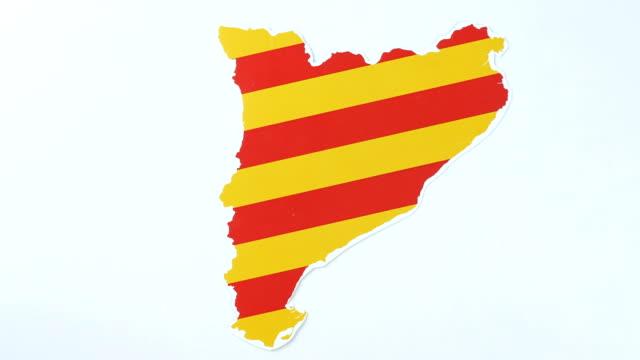 Illustration, strike in Catalonia 50 fps video