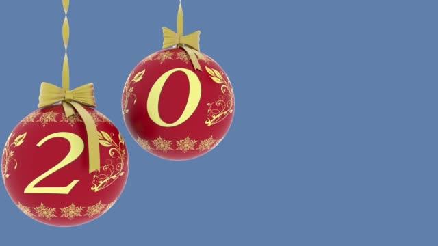 3 d イラスト - 動画。正月クリスマス装飾 - 十二月点の映像素材/bロール