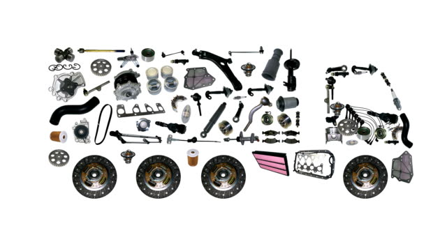 Images truck assembled from new spare parts video