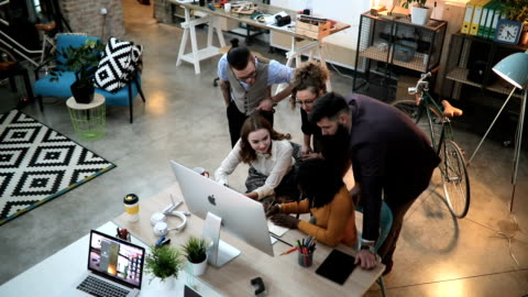 Imaginative Ideas And Lots Of Paperwork Group Of People Going Through Paperwork At the Office creative occupation stock videos & royalty-free footage