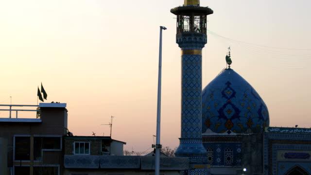 imamzadeh saleh、テヘランのモスク - モスク点の映像素材/bロール
