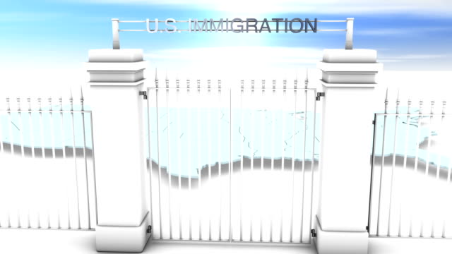 US Immigration Concept HD