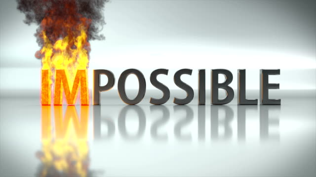 Impossible turns to possible, 3D animation