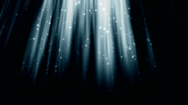 Impressive Ray Blue loopable holy beam of light background... flare stack stock videos & royalty-free footage