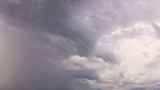 Improvement in the weather. Timelapse video