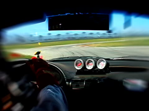 In Car Race Cam on Track video