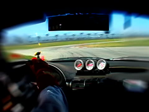 In Car Race Camera on Track video
