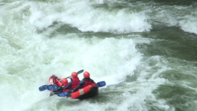 In the rapids of whitewater video