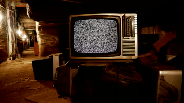 TV in the warehouse video