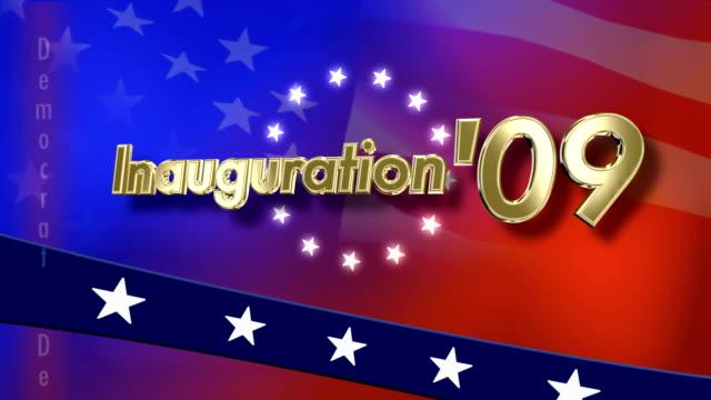vídeos y material grabado en eventos de stock de inauguración de 2009 - inauguration