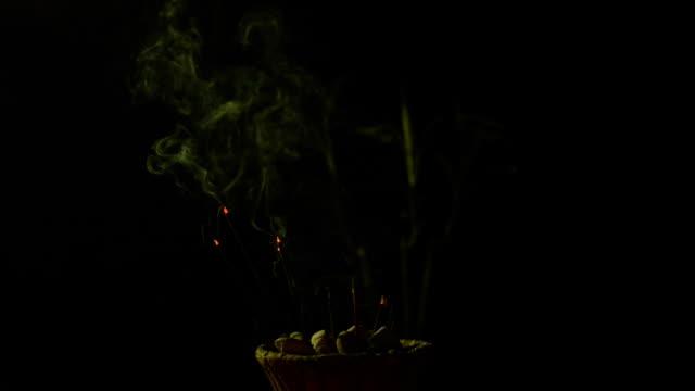 Incense stick video
