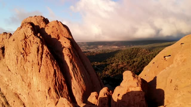 Incredible Fly-Thru shot - Garden of the Gods in Colorado Springs