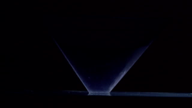 incredibly beautiful moving hologram video