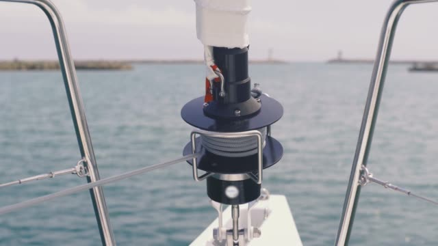 Incredibly beautiful views of the Balearic Islands from a yacht. Incredibly beautiful views of the Balearic Islands from a yacht.  Balearic sea yachting stock videos & royalty-free footage