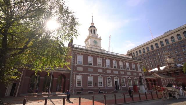 Independence Hall in Philadelphia, Pennsylvania video