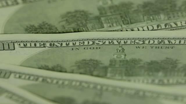 Independence hall. One hundred dollar bills video