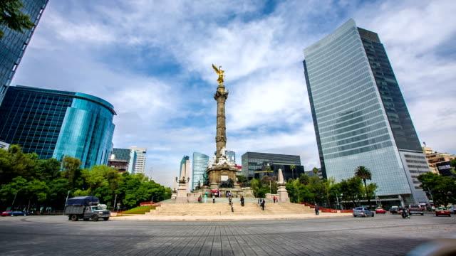 Monumento de la independencia de la ciudad de México - vídeo