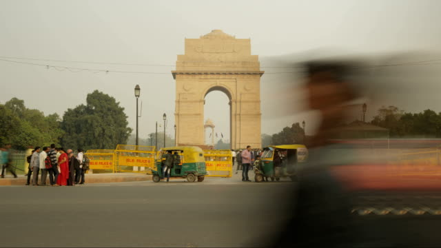 India Gate Time Lapse video