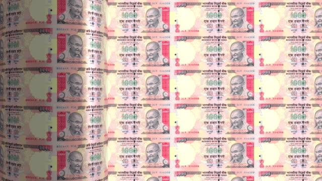 India Rupee printing - animation video