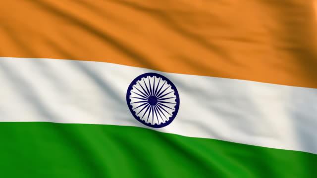 Indian flag animation- 4K video