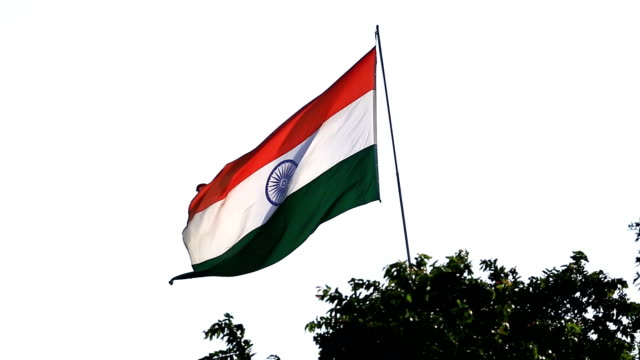 Indian National Flag (Tricolor) video
