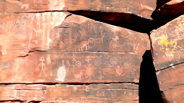 Indian Petroglyphs video
