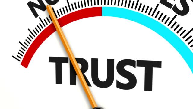 indications building trust - fiducia video stock e b–roll