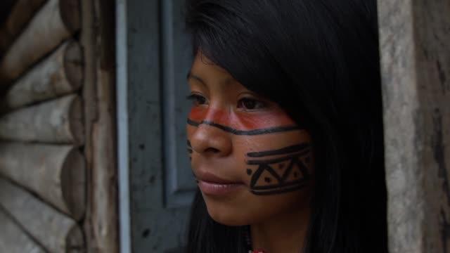 Indigenous Woman in Brazil video