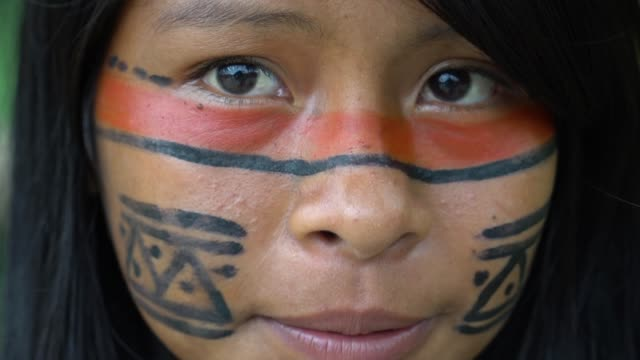 Indigenous Woman in Brazil Indigenous Woman in Brazil amazon stock videos & royalty-free footage