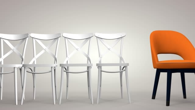 Individuality is a concept, to be different, to be the best, to stand out. 3D rendering