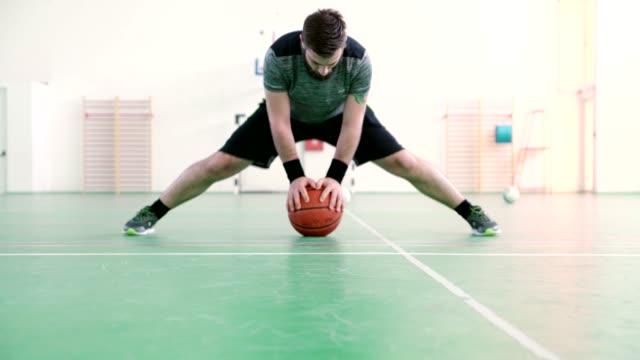 Indoor Basketball Player video
