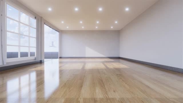 inomhus tomt rum japan stil. 3d-rendering - golv bildbanksvideor och videomaterial från bakom kulisserna