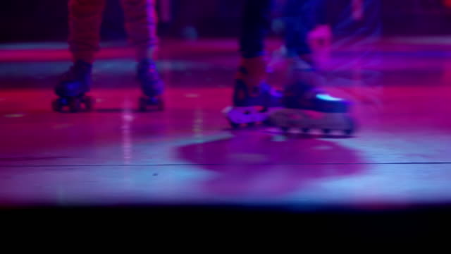 LS Indoor roller skating video