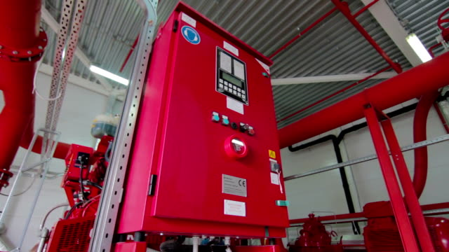 Industrial and building fire alarm and water sprinkler system