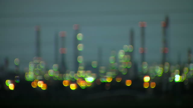 Industrial area. Power station video