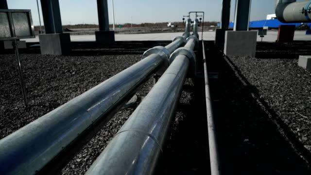 Industriell byggnad-LNG olja Gasutrustning video