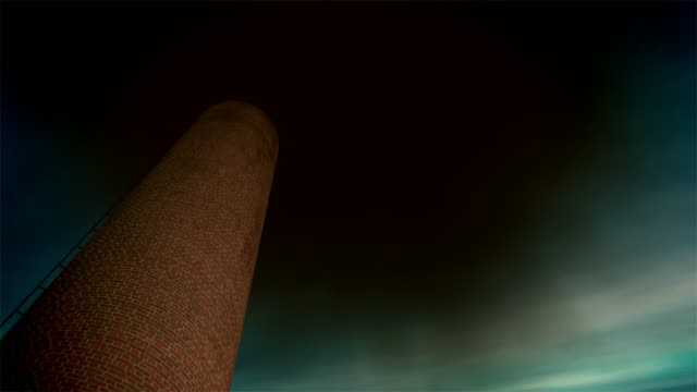 産業チムニー(ループ) - 煉瓦点の映像素材/bロール