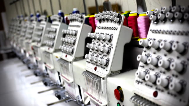 Industrial Embroidery Sewing Machines video