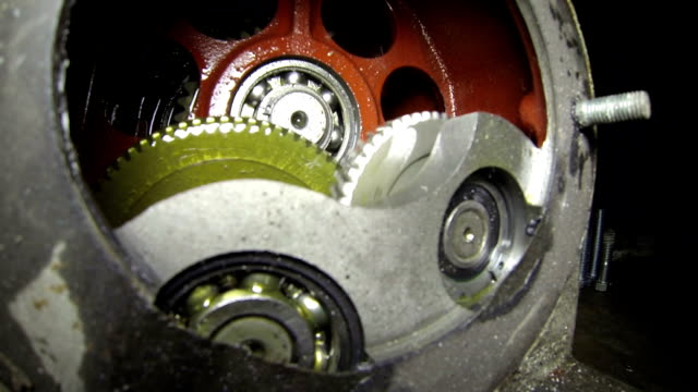 Industrial Gearbox video