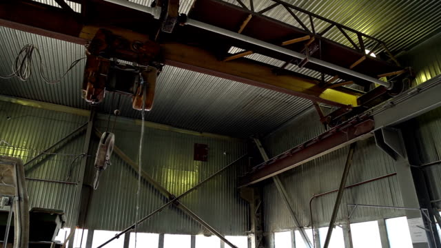 Industrial hoists with motor video